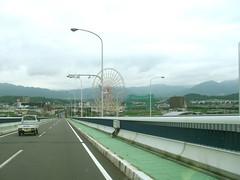 琵琶湖大橋より