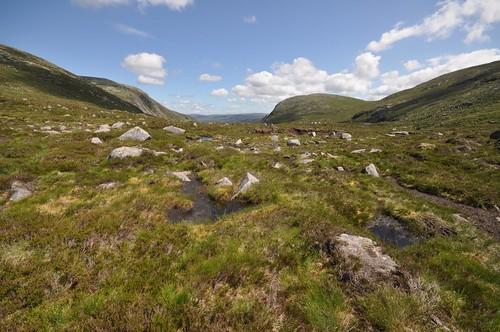 Following Allt an Dubh Loch