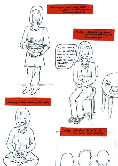 My week in drawings part 2