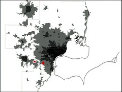 spatial Detroit, circa 2000 (by: Charles Waldheim, Harvard GSD, CNU 19)