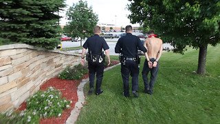 Anti-Torture Vigil - Week 52: Cops Walk Kirk to the Car