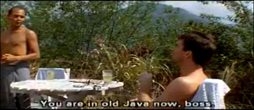 Screen Shot:  Old Java Now