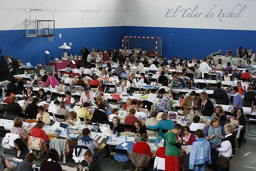 II Encuentro de Bolillos y Labores Artesanales de Milladoiro 2011