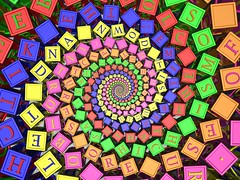 Lectures (fdecomite) Tags: spiral cube math letter doyle povray colourartaward