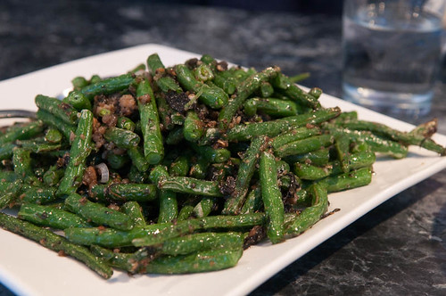 Green Beans, Olives, And Pork