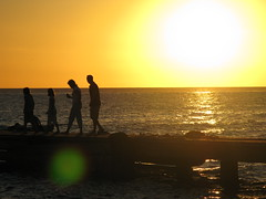 Family (photon_de) Tags: family sunset dominicanrepublic mywinners caribbiansea