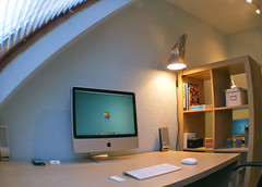 The System Attic (purplelime) Tags: ikea apple powerbook imac homeoffice macs thesystemattic