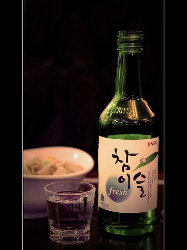 Korean Wine 소주; 燒酒