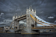 Tower Bridge (MSoelaiman) Tags: uk bridge london towerbridge d50 ir v3 infrared harlim