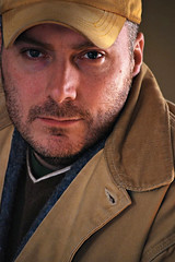 Portrait using only daylight indoors (michkav) Tags: lighting portrait man daylight intense nikon indoor carhartt rugged nikond40x