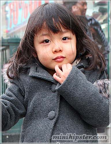 Japanese Style ( Mini Hipster - kids clothing trends, childrens street fashion )
