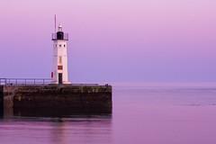 Lighthouse (Stuart Stevenson) Tags: ocean lighthouse water scotland early harbour fife tide stuart northsea anstruther lighthousetrek stuatstevenson anon300d stuartstevenson