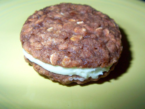 Heaven, otherwise known as E's oatmeal cream sandwiches
