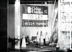 A sign of the times (epcp) Tags: blackandwhite bw shop 350d bath derelict otw freephotos omot distingushedpictures