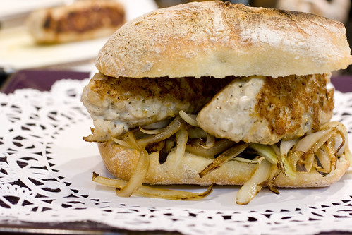 Chicken Sausage Sandwich