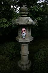Fujiko in lantern