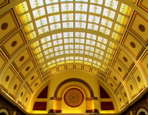 Inside Union Station HDR 1: Ceiling