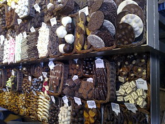 Barcelona - Mercado de la Boquería - Chocolate!