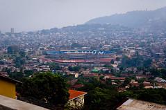 Freetown Overlook (unipus) Tags: africa stadium sierraleone freetown