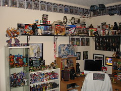 Jerry's collection room