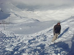 Paul offpiste (pdwsm) Tags: snowboarden lesmenuires ofpiste