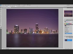 Water Reflection (Version 1) (Poe Tatum) Tags: city black reflection water photoshop reflections video cs2 betty howto cs lesson tut tutorial beginner gradiant intermediate cs3 cs4