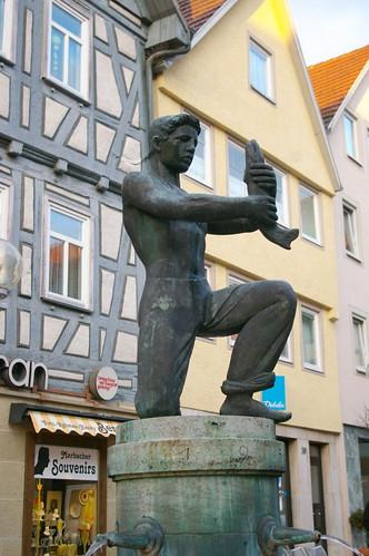 Памятник Емеле и Говорящей Щуке