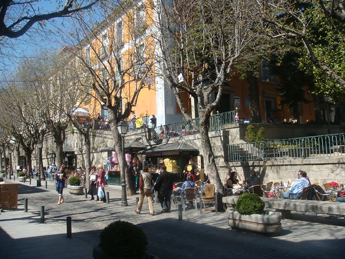 Calle Floridablanca del Escorial