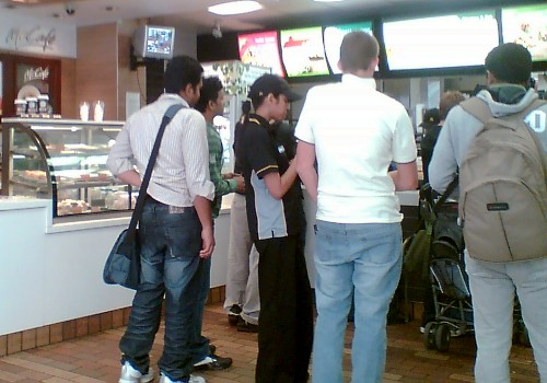 Expediter in Maccas