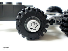 My PIMP Wheels (Apple - Pie) Tags: 6x6 truck lego trialtruck