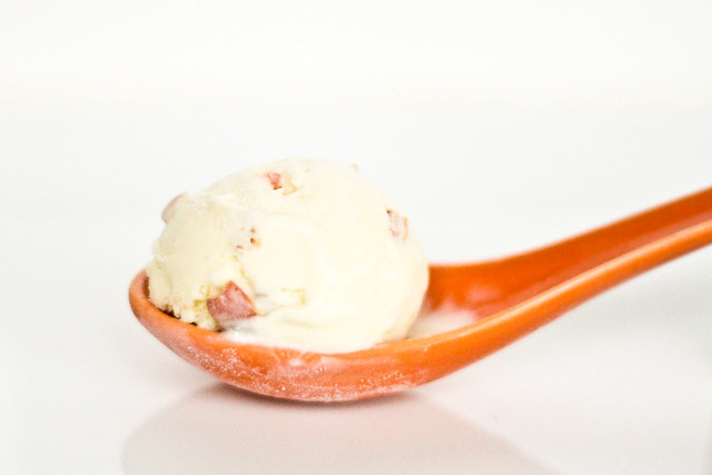 White Chocolate-Habanero Ice Cream
