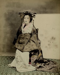 Tayuu - a Japanese courtesan (noel43) Tags: japan japanese district prostitute prostitution redlight pleasure meiji courtesan yoshiwara oiran tayu tayuu kamuro