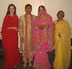 Telana, Vikram, Satneet and Auntie