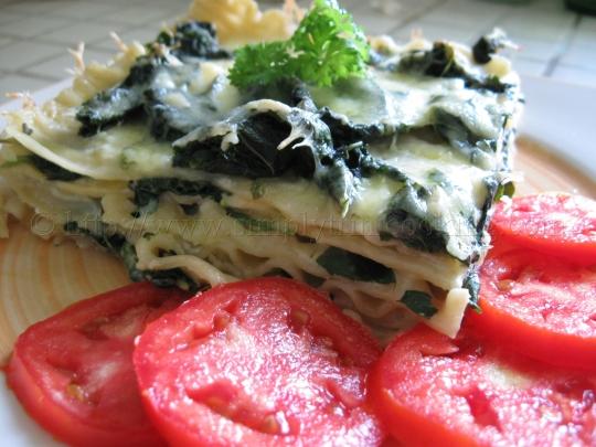 Trini Spinach Lasagna
