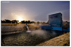 Appointed or seven    7  (A.Alwosaibie) Tags: sun hot water beautiful fog sunrise mouth nikon warm you smoke 7 seven source  ksa 530 d60 sigma1020mm alhasa themother