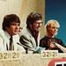 Paul Makin, Rolf Harris and Colleen Hewett