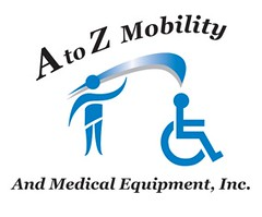 person standing, blue swoosh symbol leading to head of standardised person-in-wheelchair symbol