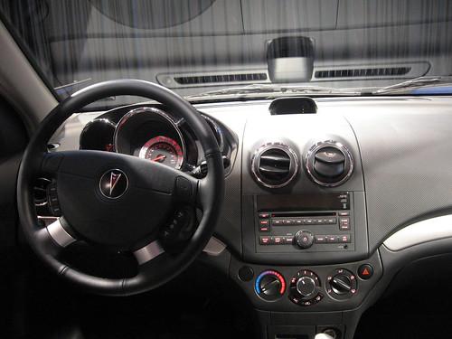 Pontiac G3 interior