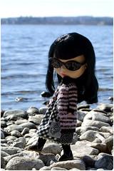 Pepe at beach