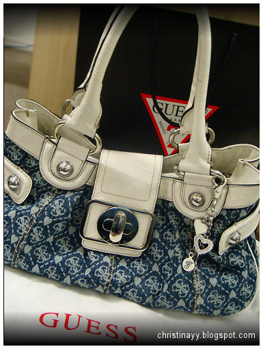Guess Princess Small Satchel (White)