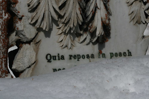 Pontresina Graveyard (by niklausberger)