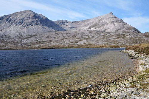 Arkle across Loch an Easian Uaine