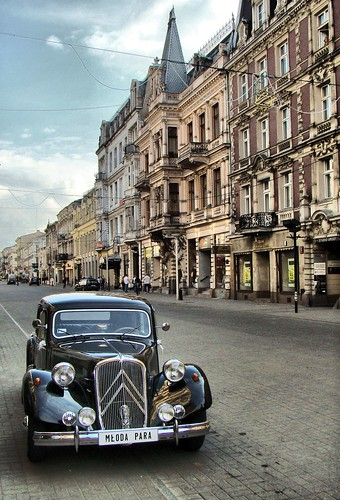 Citroen @ Piotrkowska Street, Lodz