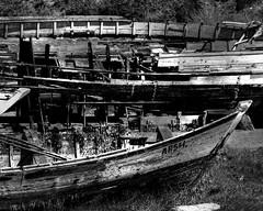 EN EL OLVIDO (VISIÓN FOTOGRÁFICA...MAS ALLÁ) Tags: barcas