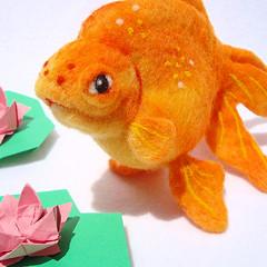 Felt Goldfish 5
