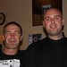 Mark Cherrill and Scott Allen - at Tatooed John's Wake