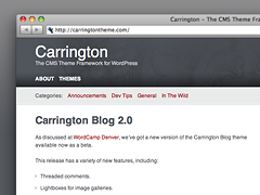 Carrington Blog 2.0