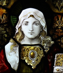 Mary of Bethany (davewebster14) Tags: glass stainedglass stained northumberland morpeth stannington kempe percybacon maryofbethany cekempe charleseamerkempe stmarystannington percybaconbrothers