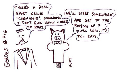 366 Cartoons - 090 - Gerdes and Pig
