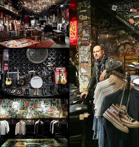NYC John Varvatos Store
